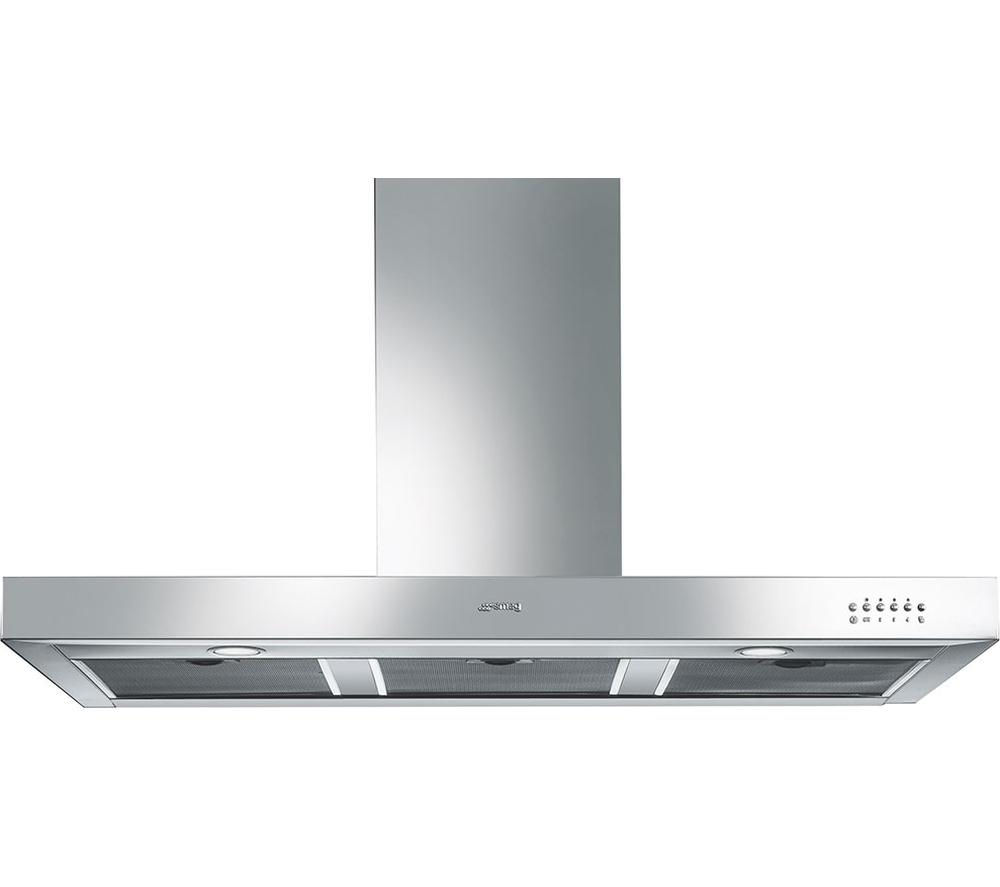 Smeg Symphony KS110XE Chimney Cooker Hood - Stainless Steel